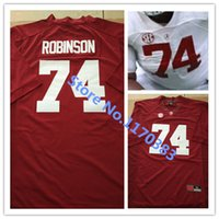 american cams - Factory Outlet Embroidery logos American College Football Jersey Alabama Crimson Tide Cam Robinson Jersey Football Jersey free ship