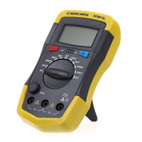 Wholesale Digital LCD Display Capacitor Capacitance Meter tester XC6013L lab stand New