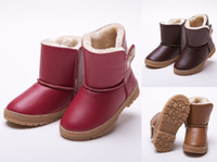 Wholesale Lowest Price New Autumn Winter Warm Children Snow Boot Knee High Thicken Boys And Girls Cotton Boots Fashion Keep Warm Kids Shoes