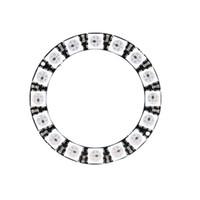 Wholesale 16 Bit WS2812 RGB LED Built in Full color Driver Lights Round Development Board Module E0809