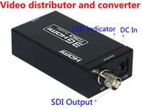 video distributor - HDMI Adapter Switches HDV S009 Mini G HDMI to SD SDI HD SDI G SDI Converter Gbit Video distributor and converter
