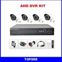 Wholesale H ch CCTV AHD DVR KIT in DVR AHD M Hybrid DVR P Digital Video Recorder For AHD Camera IP Camera Analog Camera