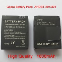 Wholesale Gopro hero3 Battery for Gopro Hero Rechargeable Battery mAh ahdbt
