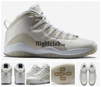 Wholesale New Retro OVO Summit White Metallic Gold Drake Basketball Shoes For Men Cheap Fashion AJ10 Retro X Sneakers J10s sz8