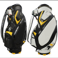 Wholesale 2015 hot New Rbladez Golf bags Standerd Mens Pu Golf bag Black White High quality AAA