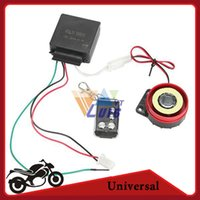 motorcycle alarm - Single way Motorcycle Alarm Remote Control Scooter Bike Theft Protection Security Alarm System dB Engine Start Universal