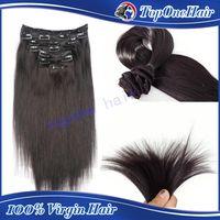Cheap clip in hair extensions Best full head clip in hair