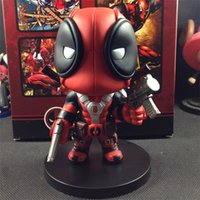 Wholesale 2016 Marvel Movie cm Fashion Deadpool Q Version PVC Action Figure Collectible Toy Doll Deadpoll Figure