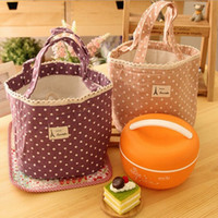 Wholesale New Colors Portable Thermal Insulated Tote Pouch Cooler Lunch Box Storage Picnic Bag