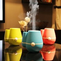 Wholesale New Mini usb humidifier ultrasonic humidifier air humidifier Anion aromatherapy essential oil aroma diffuser