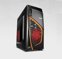 Wholesale DHL PC Desktop Gaming Computer Quad Core AMD860K Graphics card Gigabyte F2 A88XM DS2 G GB Hard disk G RAM mm