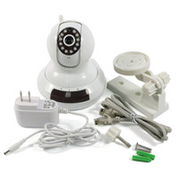 Wholesale Cloud IP Camera HD p Network Wifi Security P2P Cloud CCTV Camera GSM Alarm Cmos Ir cut mm WPS TF Card Singapore Post