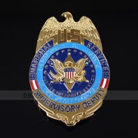 Wholesale The United States USMS CHIEF DEPUTY copper metal badge badge