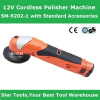 Wholesale V Cordless Polisher Machine SM with Standard Accessories Sier Angle Polisher CE GS Wax polishing machine