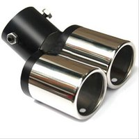Wholesale 2015 Car Muffler Modification Tail Dual Exhaust Pipes Systems Double Tailpipes B
