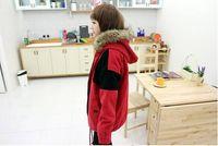 asian lamb - Asian cute girl students coats thick cotton jacket winter loose warm lamb wool coats women