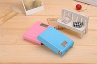 Wholesale 12000mah new design more colorful corporate gifts power bank led torch light portable power bank