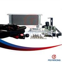 Wholesale PQY STORE OIL COOLER KIT FOR AUDI A3 S3 TT VW GTI T MK5 MK6 ROW BOLT ON OIL COOLER KIT UPGRADE fittings PQY5123BK