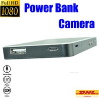 Wholesale 1080P mah Power Bank Spy camera M Pixels Mini Power Bank Spy Camera Motion Detection Power Bank Hidden DVR Support Video HS
