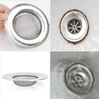 Wholesale x New Useful Convenient Kitchen Toilet Sink Prevent Clogging Sewer Filter Stainless Steel
