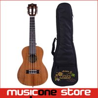 Wholesale KAKA Mini Ukulele Hawaii Guitar Whole Acacia Concert Ukelele Hawaii guitarra fret inch with bag Mu1225