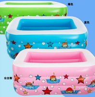 baby pool supplies - blue pink green baby pool inflatable pool many children swimming oversized more environmentally friendly15070413