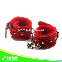Cheap Attractive Sex Toy Restraint Bondage Furry Handcuffs Sex Furniture Sex product XN07