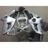 body kit - Motorcycle Fairing Body Kit For Kawasaki Year ZX6R Motorbike Cowling Ninja Silver Black Racing Parts Injection Mold