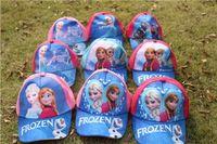 Wholesale Frozen baseball cap Children Caps Elsa Anna Cartoon Snapback hat red Embroidered hats Mixed order F2D37