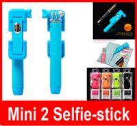 Wholesale Mini Monopod Tripod pen pocket Extendable Handheld Foldable Portable bluetooth wireless selfie stick Groove super supreme RK mini2 z07 s
