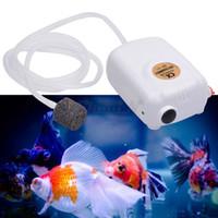 Wholesale 2015 New hotsale Silent High Energy Efficient rechargeable Aquarium Fish Tank Oxygen Air bubble Pump DYT07