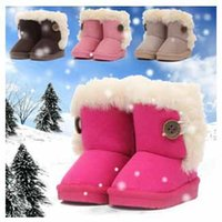 Winter child boots - Children s Boot Snow Boots Thicken Winter Children Shoes For baby Kids Child Snow Boots Colour Sizes Small Size Group Warm Boots