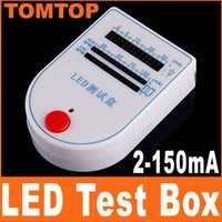 Wholesale Mini LED Tester Test Box mA V Battery freeshipping dropshipping