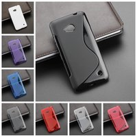 Wholesale S Line Soft TPU Rubber Gel Case Cover for Nokia Microsoft Lumia MIX Model Colors Mix colors
