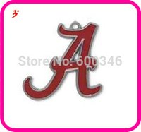 alabama university sports - 2015 Custom design University of Alabama Crimson Tide charms single sided mental enamel DIY custom making charms