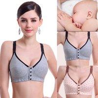 cotton bras - New Pregnant Women Nursing Bra Underwear Maternity Breastfeeding Feeding Bras Size B C Hot