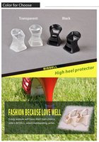 high heel stoppers - High Heel Protector Latin Stiletto Dancing Shoes Covers Stoppers Antislip Heel Protectors Wedding Party noiseless protector