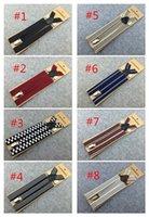 Wholesale 1000PCS clips cloth stripe Mens Womens Unisex Suspenders CM Buckles adjust Y Shape Adjustable Braces suspenders