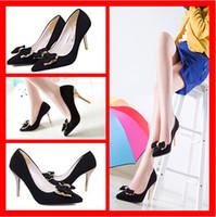 Cheap 2015 Fashion Korean Shoes wedding shoes Ladies Women High Heels Court Shoes Pointy Toe Stiletto Work Smart Pump black shoes