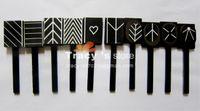 magnet sheet - Magnetic Polish Tips Sheet Strip Designs Available Nail Art Slice Magnet Metallic Metalic UV Tool