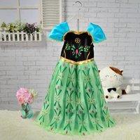 Cheap Anna dress Best girls anna dress princess dress