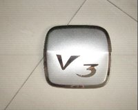 Wholesale Car stainless steel fuel tank cap cover for Mitsubishi V3 with no rust order lt no track