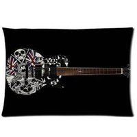 ask guitar - Hot Sales Asking Alexandria Queen Guitar Black Soft Pillowcase Good Quality Pillow Case Covers X30 One Side