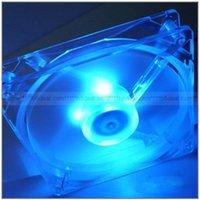 Wholesale Applied mm Fans LED Blue for Computer Fan PC Case Cooling Portable Convenient Notebook Cooler