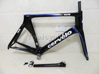 Cheap 2014 Cervelo S5 VWD Frameset S5 carbon road bike frame glossy carbon bicycle Frame Fork Seatpost Clamp Headset size:48 51 54 56cm