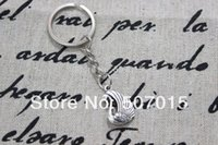 Cheap 10pcs lot ON SALE---Duck key ring, Duckling, Baby Duck, Silver charm gift