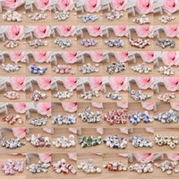 Wholesale 200pcs NEW ARRIVAL Charming Chinese Style Ceramic Alloy Loose Beads Pendant Beads For Bracelet Necklace DIY Making Chain QCK
