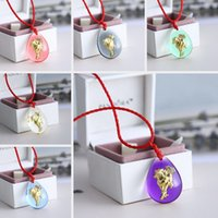 gold dust - Necklaces jewelry horse pendant zodiac Authentic Gold Dust Pendant galss necklaces animal necklaces