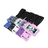 Wholesale Hot pc Arm band gym for iPhone s Case Outdoor Activity Phone Bags Cases Running Sport Arm Band Case for iPhone S