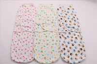 Wholesale 10 styles newborn baby swaddle wrap cotton fleece soft Envelope for infant newborn products Blanket Swaddling Swaddleme